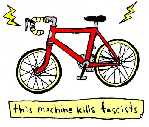 this machine kills facists