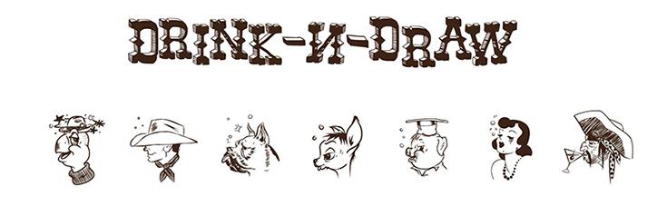 drink-n-draw