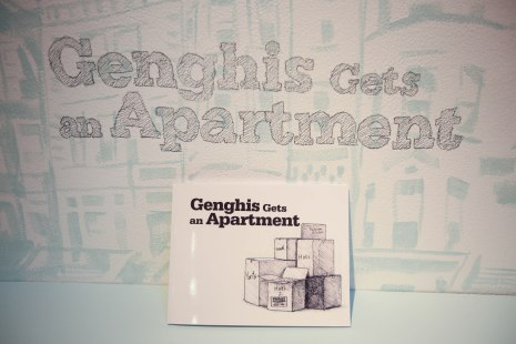 """Genghis Gets an Apartment"" by Tom Russotti & Tsubasa Berg"
